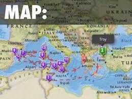 odyssey map odyssey project by deena ramos