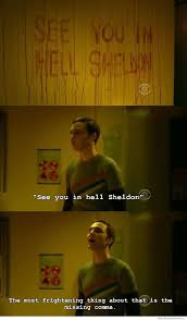 Sheldon Meme - see you in hell sheldon weknowmemes
