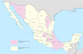 Mexico States Map by Mexican States As Countries With Similar Gdp Nominal 2029 X