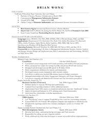 Business Administration Resume How To Write Bachelor Of Business Administration On Resume Free