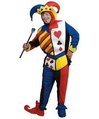 playingcard joker jester costume halloween costume