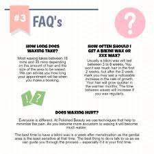 how long does your hair have to be for a comb over fade hairstyle ultimate waxing guide infographic polished beauty