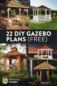 Outdoor Patio Gazebo 12x12 by Top 25 Best Backyard Gazebo Ideas On Pinterest Gazebo Garden