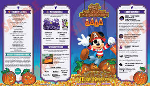 mickey u0027s not so scary halloween party 2016 allergy offerings