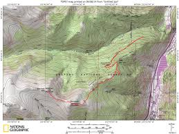 14ers Map Republican Mountain U0026 Sherman Mountain Colorado Trip Report