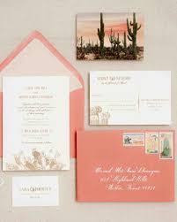 destination inspired wedding invitations martha stewart weddings