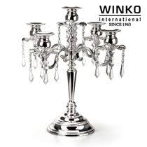 stainless steel table ornaments home decor candles three sets jz