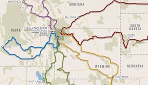 Map Of Montana And Wyoming by Road Trips To Yellowstone And Stops Along The Way My Yellowstone