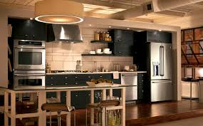 apartments stunning simple industrial kitchen vie decor modern