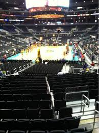 Staples Center Seating Map Staples Center Section 106 Row 18 Seat 19 Los Angeles Sparks