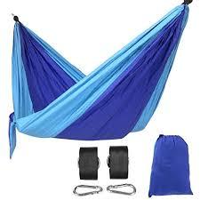 amazon com songmics portable camping hammock lightweight nylon