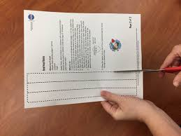 writing paper with space for picture make a planet mask nasa space place scissors cutting out strips of paper on dotted lines on activity template