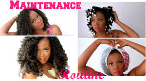 how to maintain curly u0026 luscious crochet braids w marley hair
