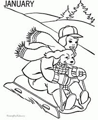 the awesome along with lovely free winter coloring pages printable