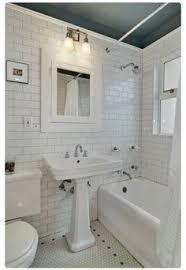 Subway Tile Bathroom Floor Ideas Black And White Tile Bathroom Floor With Dark Grout Design Ideas