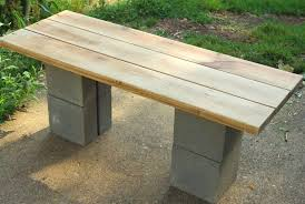 cinder block bench with back mini patio u2014 wow pictures cinder