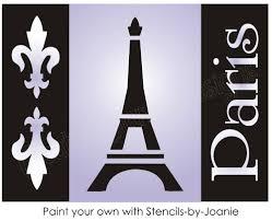 Chandelier Stencils Eiffel Tower Stencil Ebay