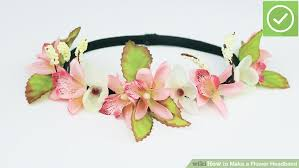 headband flowers how to make a flower headband 6 steps with pictures wikihow