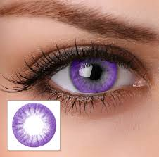 the color nine series of circle lens is available in 9 captivating
