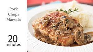 pork chops marsala recipe myrecipes