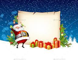 card santa claus by stockerteam graphicriver