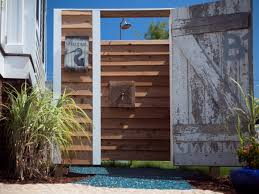 Simple Outdoor Showers - outdoor shower ideas photos