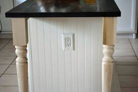 Adding Beadboard To Kitchen Cabinets Kitchen Island Makeover Tutorial At The Picket Fence