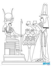 ancient egypt art coloring pages hellokids com
