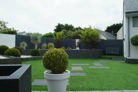 modele de jardin moderne jardins divers paysagiste créateur de jardin vannes morbihan