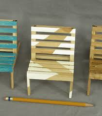 modern white and natural wood cell phone holder mini pallet chair