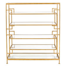 Gold Bookshelves by Furniture Nice Frame Material Worlds Away Furniture For Charming