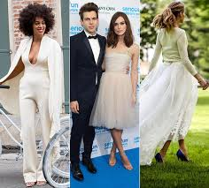 Unusual Wedding Dresses Celebrity Wedding Dresses 10 Unusual Bridal