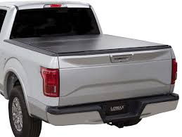 Ford F150 Bed Covers 2004 2018 Ford F150 Lomax Tri Fold Tonneau Cover Lomax B1010019