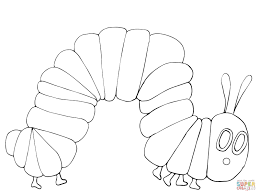 collection of solutions very hungry caterpillar coloring pages for