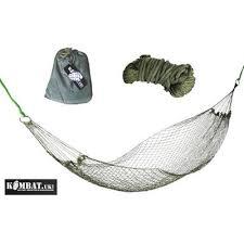 army combat military mini camping trekker hammock highlander