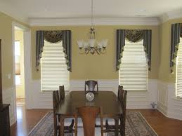 Different Curtain Styles Decoration Window Treatments Design Glass Bay Windows With