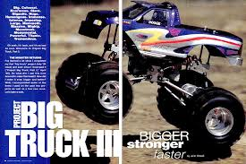 monster truck nitro 3 kev u0027s bench top 5 project monster trucks rc car action