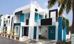 aluva 5 cents plot and 2100 sq ft contemporary style villa for