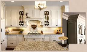 Soft White Kitchen Cabinets Cabinets Showplace Savannah Inset In Soft Cream Creates A Lovely