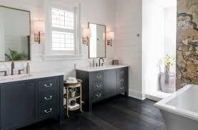 54 Bathroom Vanity Cabinet 54 Bathroom Vanity Powder Room Beach Style With Sconce Wooden