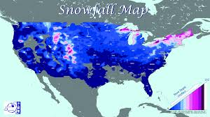 Snowfall Totals Map Tug Hill Region