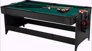 Halex Hockey Table Air Hockey Pool Table Combo Reviews Youtube