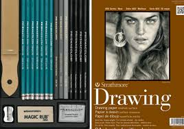 drawing materials i use best graphite pencils and papers for