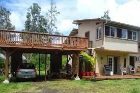 House With Carport by Deck Over Garage Carport Ideas For The House Pinterest