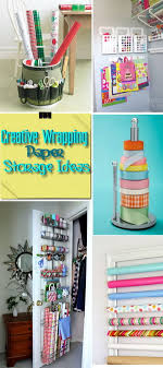 storing wrapping paper creative wrapping paper storage ideas hative