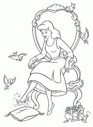 free cinderella coloring pages coloring