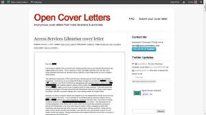 cover letter cover letters for librarians cover letters for