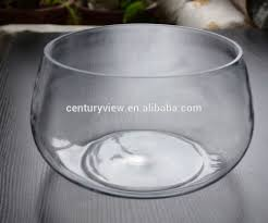 Large Round Glass Vase Wholesale Decorative Clear Round Large Glass Fish Bowl Buy Large