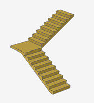 L Shaped Stairs Design Stairs Stair Design Architectural Addon Autocad U0026 Autocad Lt