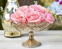 gorgeous gold wedding centerpiece centrepiece pedestal vases